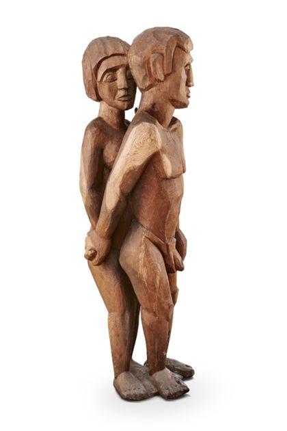 Hermann Scherer Adam et Eve
