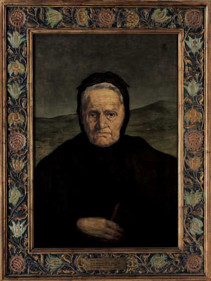 Hans Thoma Portrait of the Artist's Mother