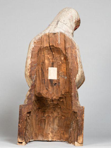 Seeschwäbisch Virgin Mary from a Vesper Statue