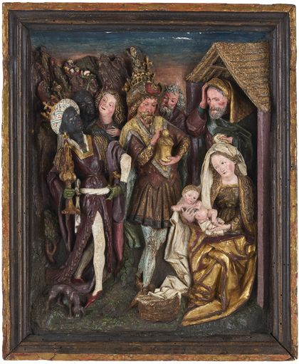 Oberrheinisch The Adoration of the Kings