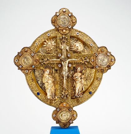 Meister Johannes Cross combined with a disk (flabellum cross)