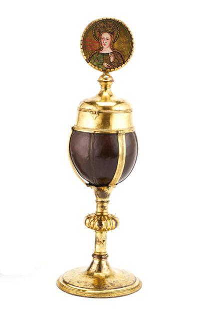 Ziborium <Vessel> Reliquary ciborium