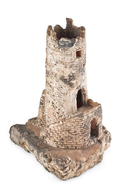 Architectural model Model of the Zähringen Castle ruins