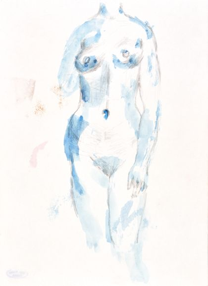 Priska von Martin Torso of a Female Nude