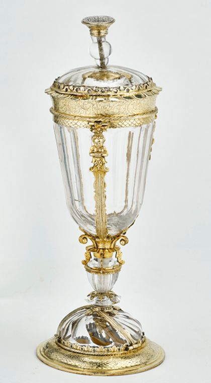 Trophy Goblet with cap