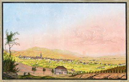 Stadtansicht von Freiburg