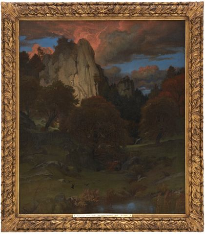 Emil Lugo Autumn Evening in the Black Forest