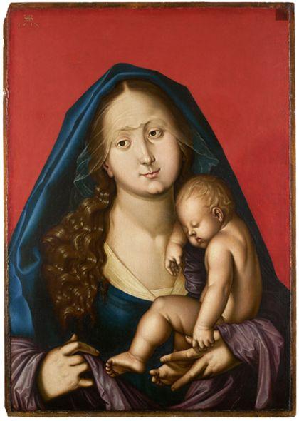 Hans Baldung Grien Madonna with Sleeping Child