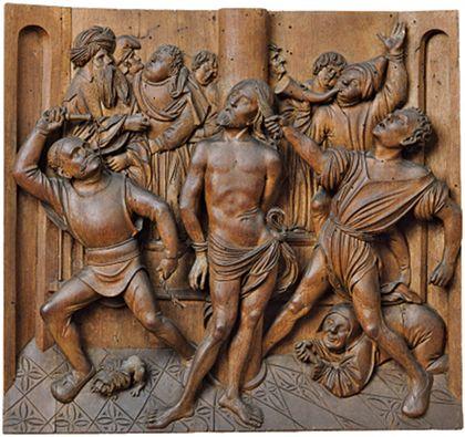 Relief der Geißelung Christi.