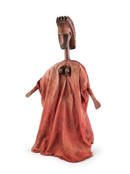 """Glove puppet """"Yayoroba: the beautiful woman"""""""