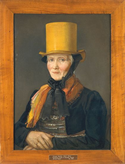Dionys Ganter Portrait of Johanna Dold