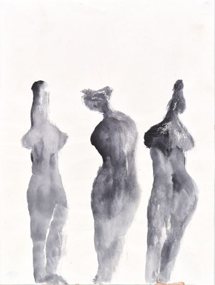 Priska von Martin Three Standing Female Torsos