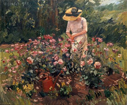 Hermann Goebel Rose Bed