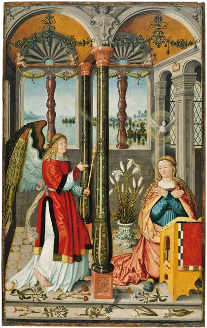 Wilhelm Stetter The Annunciation