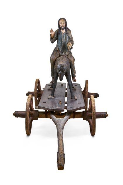 Schwäbisch Christ on a Donkey