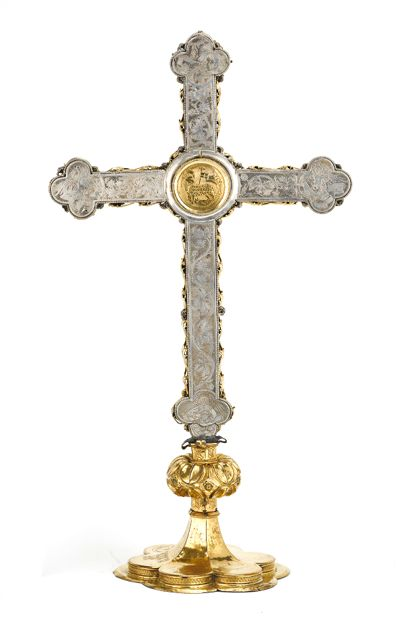 Cross reliquary Cross reliquary