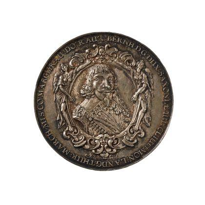 Bernhard, Sachsen-Weimar, Herzog Conquest of Breisach medal