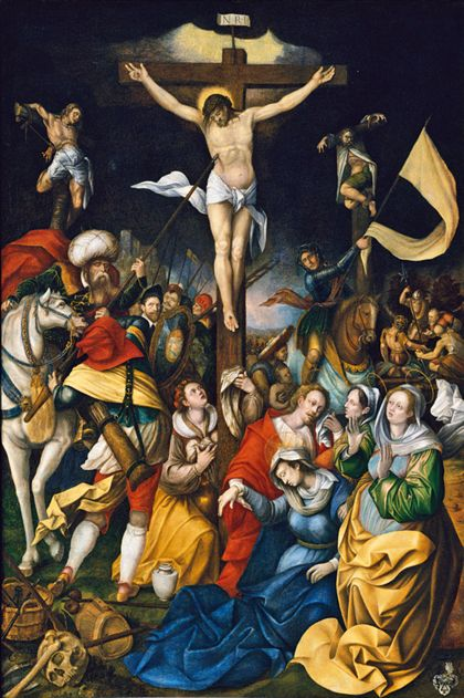 Bartholomäus Bruyn The Crucifixion