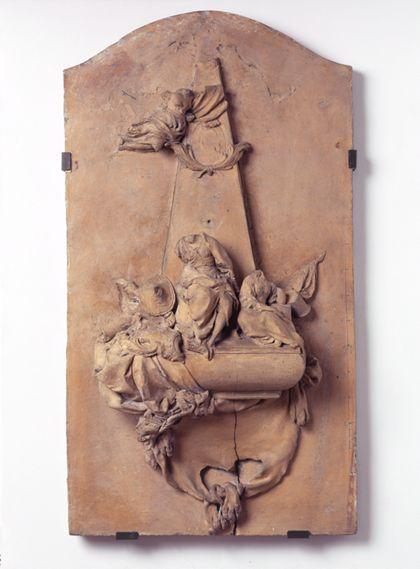 Modell für das Grabmal des Generals Franz Christoph Joseph von Rodt.