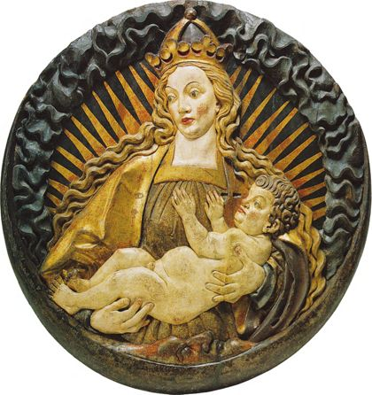 Hans Wydyz The Virgin and Child