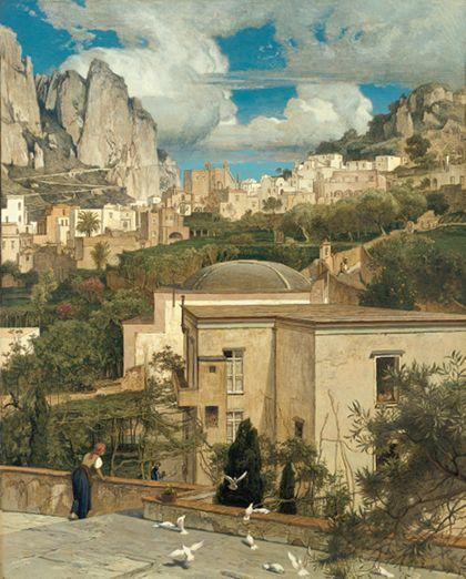 Emil Lugo View of Capri