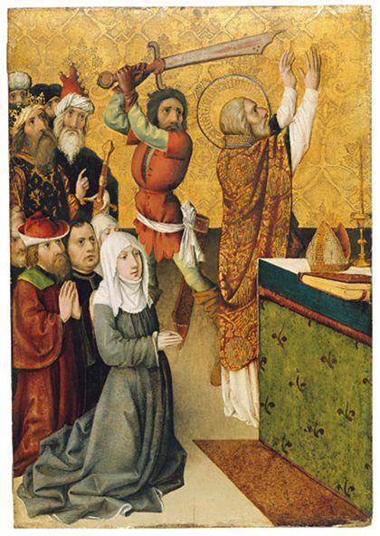 Oberrheinisch Martyrdom of St Matthew