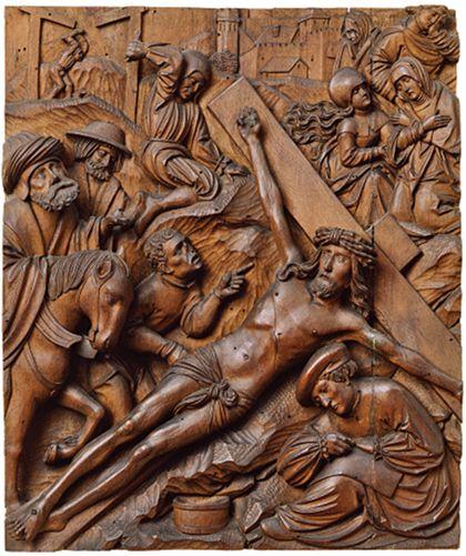 Relief der Kreuzannagelung.