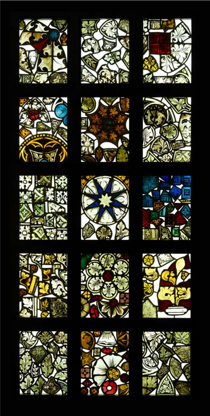 Windows Fragments of stained glass