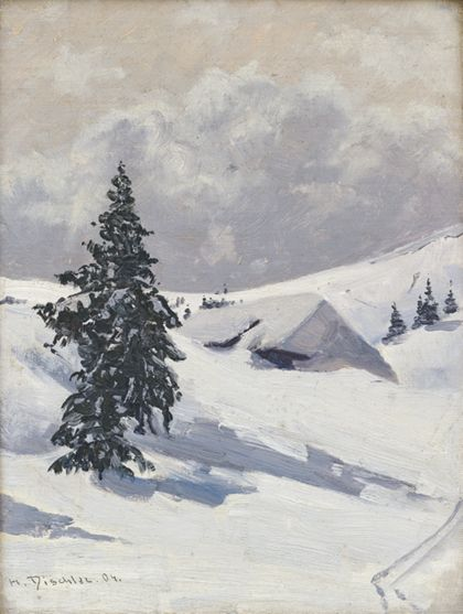 Hermann Dischler Baldenweger Hut on the Feldberg