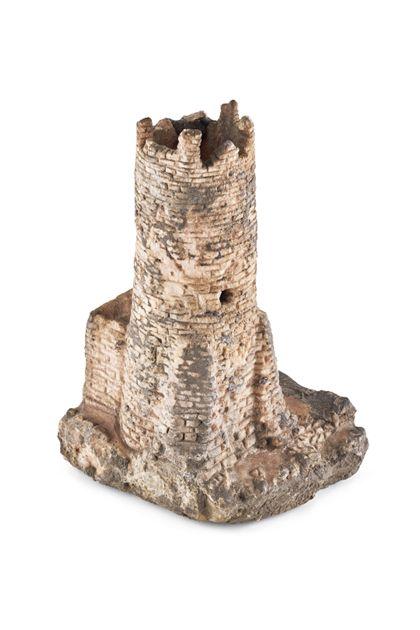 Architectural model Model of the Zähringen Castle ruins