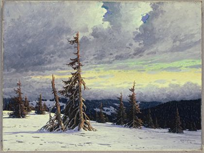 Karl Hauptmann Winter
