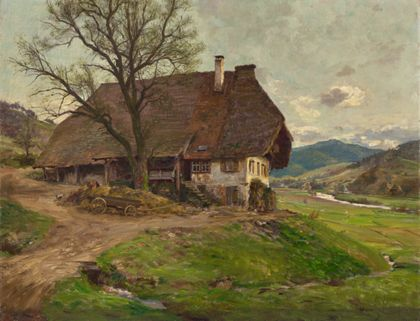 Wilhelm Gustav Friedrich Hasemann Black Forest house