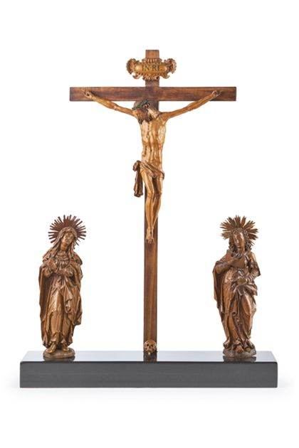 Martin Zürn The Crucifixion with the Virgin and St John