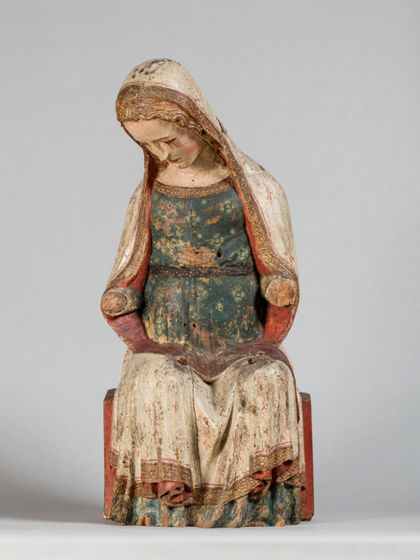 Seeschwäbisch Virgin Mary from a Vesper Statue