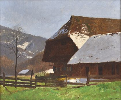 Karl Schuster Black Forest Idyll