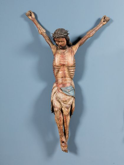West- oder Südwestdeutsch The crucified Christ