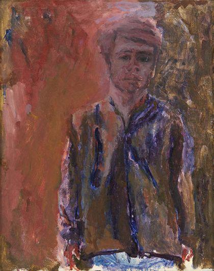 Peter Dreher Self-Portrait
