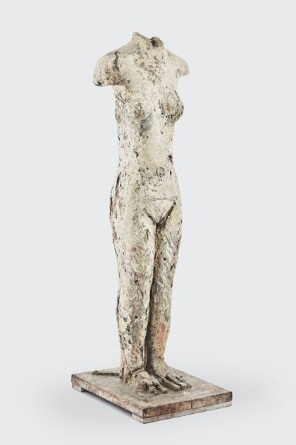 Priska von Martin Female torso (Partially destroyed figure)