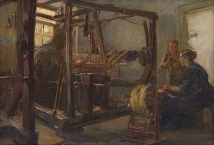 Christian Adam Landenberger Weaving Room