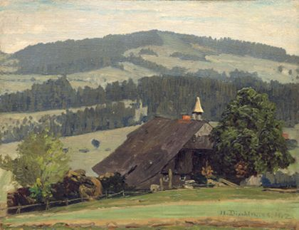 Hermann Dischler Ospelehof Farm in Hinterzarten