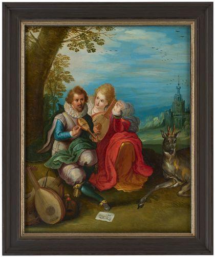 Frans Francken (der Jüngere) L'ouïe