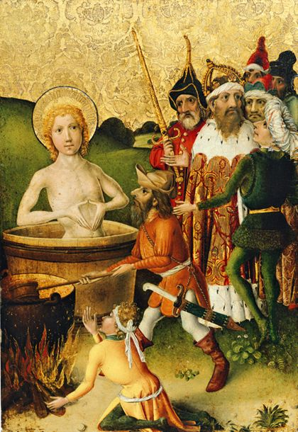 Oberrheinisch Martyrdom of St Matthew and Martyrdom of St John the Evangelist