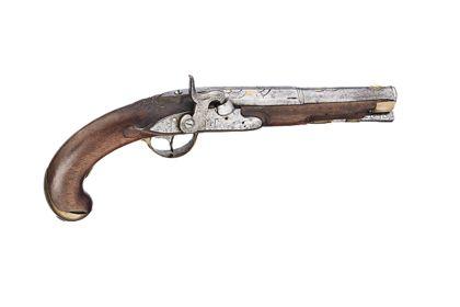 Historische Pistole.