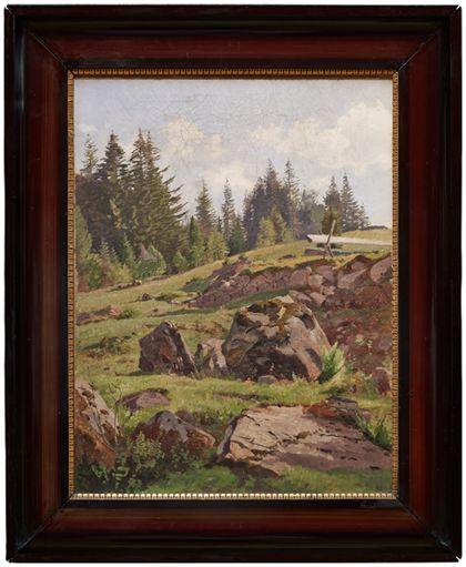 Max Wilhelm Roman Black Forest Landscape