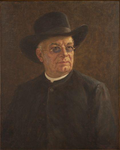 Heinrich Hansjakob Portrait of the Clergyman Heinrich Hansjakob